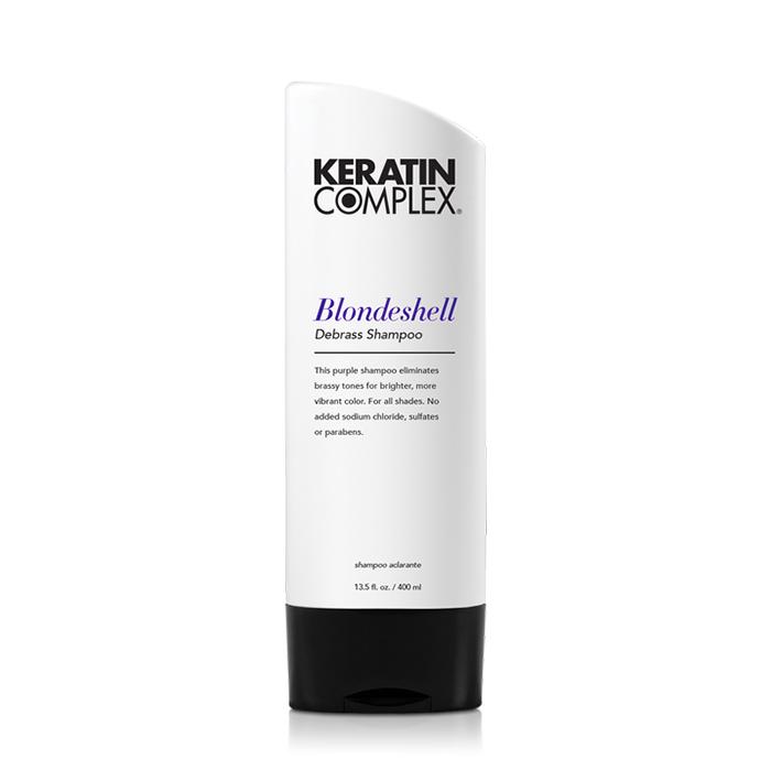 Keratin Complex Blondeshell Debrass & Brighten Shampoo 400ml