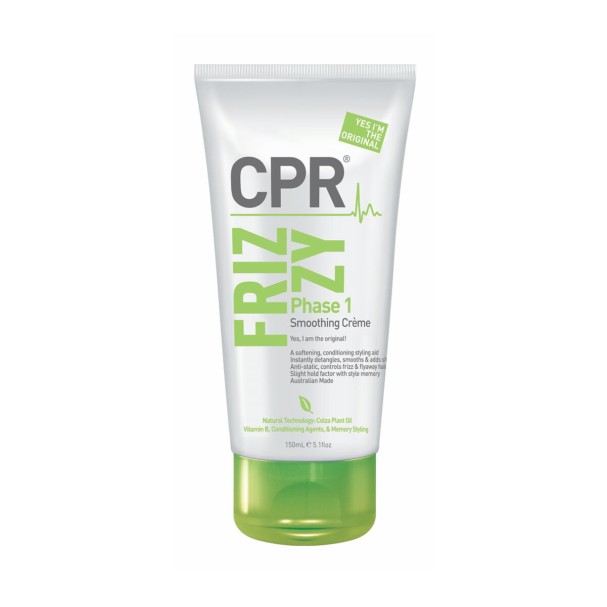 Vitafive CPR Frizz Control Phase 1 Smoothing Creme 150ml