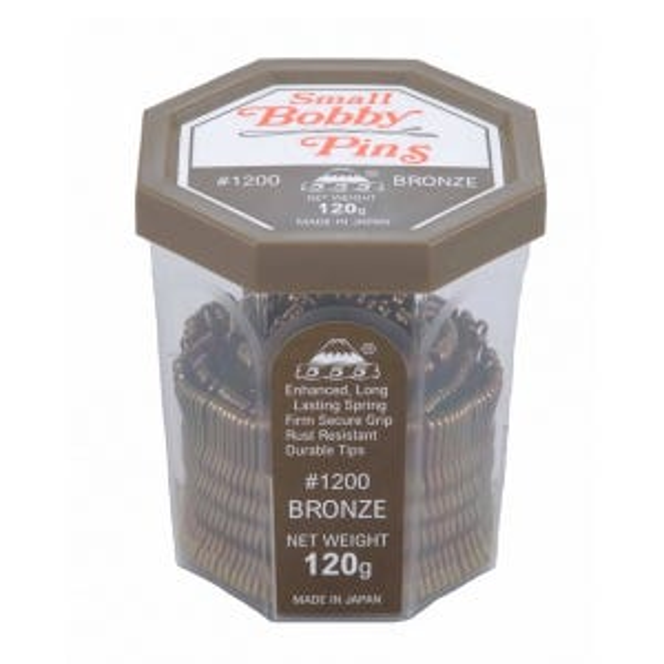 555 Bobby Pins 1.5 inch Bronze 120g