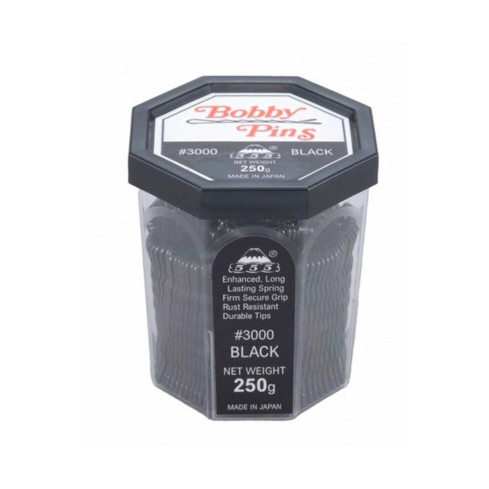 555 Bobby Pins 2 inch Black 250g