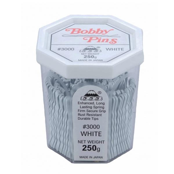 555 Bobby Pins 2 inch White 250g