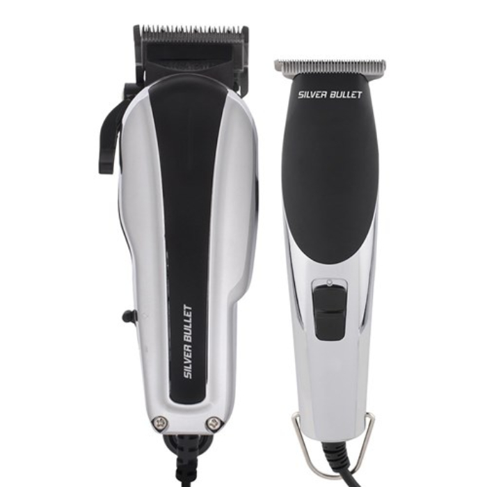 Silver Bullet Dynamic Duo Trimmer And Clipper Set