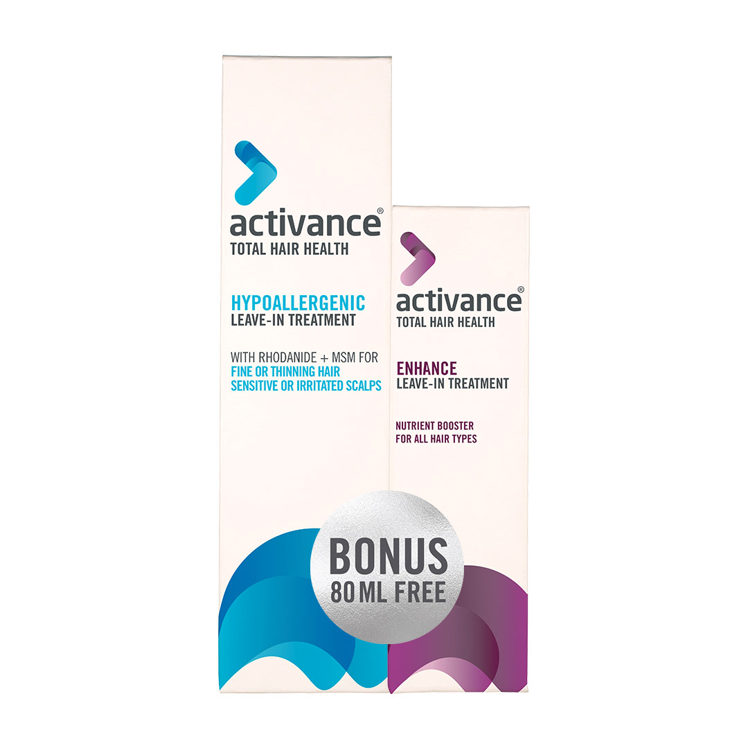 Activance Hypoallergenic Leave-in Treatment with Free Enhance Leave-In Treatment 80ml