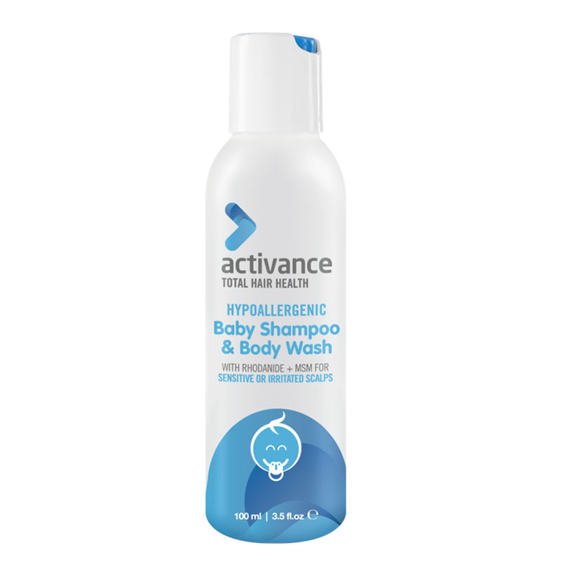 Activance Hypoallergenic Baby Shampoo and Body Wash 100ml