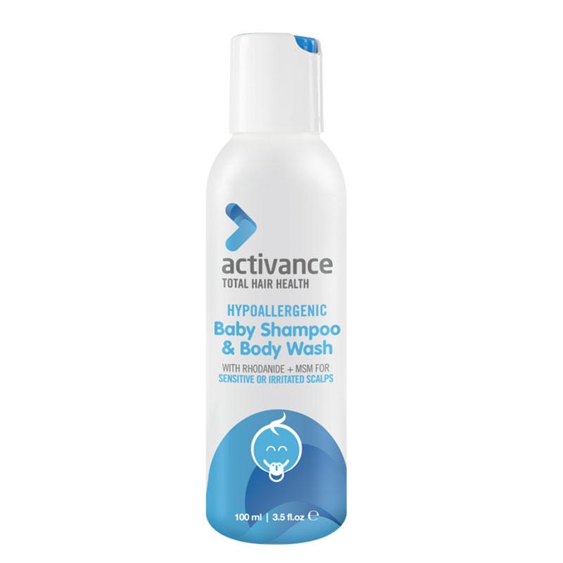 Activance Hypoallergenic Baby Shampoo and Body Wash 100ml