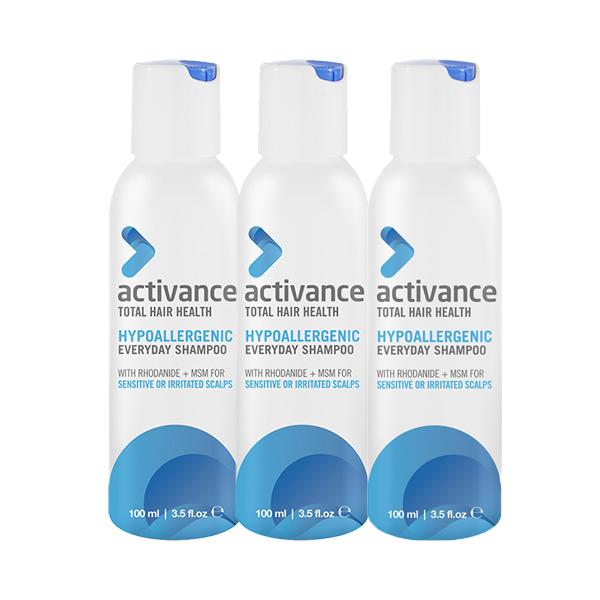 Activance Hypoallergenic Everyday Shampoo 100ml Trio