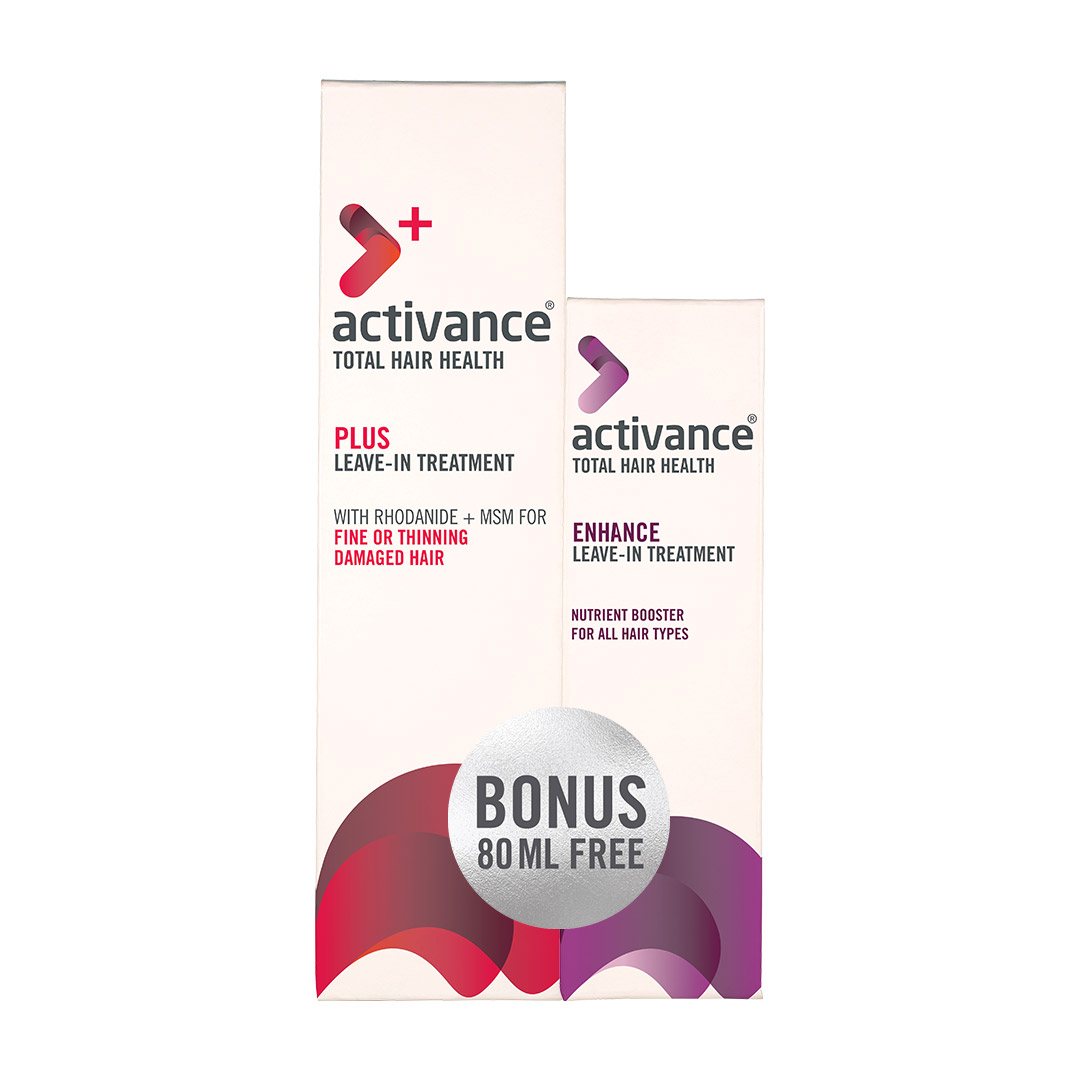 Activance PLUS Leave-In Treatment with Free Enhance Leave-In Treatment 80ml