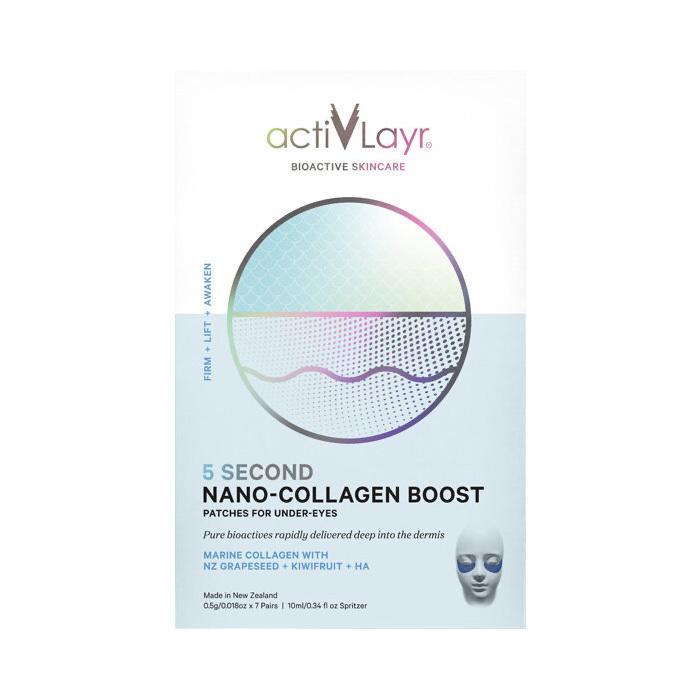 ActivLayr Nano-Collagen Boost Under-Eye Patches 7 Pack