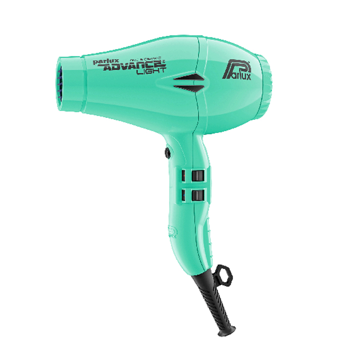 Parlux Advance Light Ceramic and Ionic Hair Dryer 2200W - Aqua