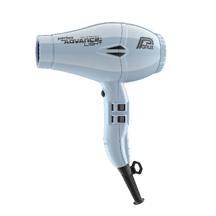 Parlux Advance Light Ceramic and Ionic Hair Dryer 2200W - Ice Blue