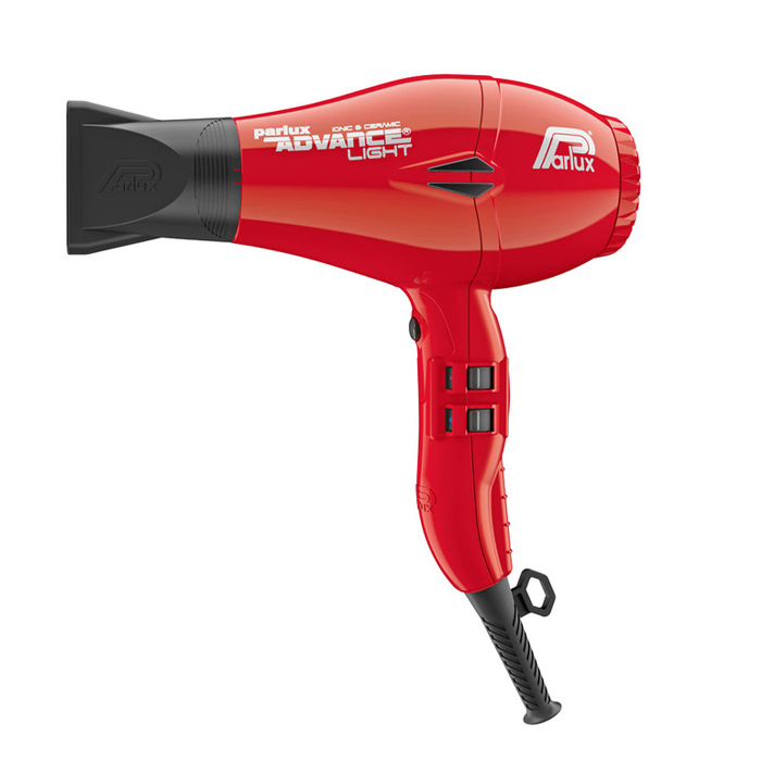 Parlux Advance Light Ceramic and Ionic Hair Dryer 2200W - Red