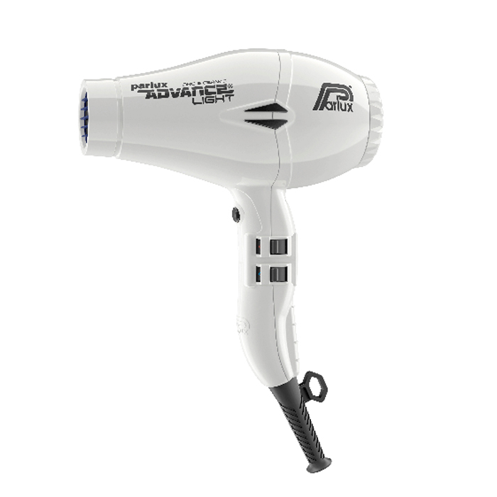 Parlux Advance Light Ceramic and Ionic Hair Dryer 2200W - White