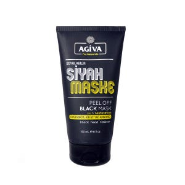 Agiva Siyah Maske Peel Off Black Mask 150ml