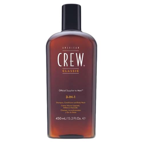 American Crew 3-in-1 Shampoo Conditioner and Bodywash 450ml