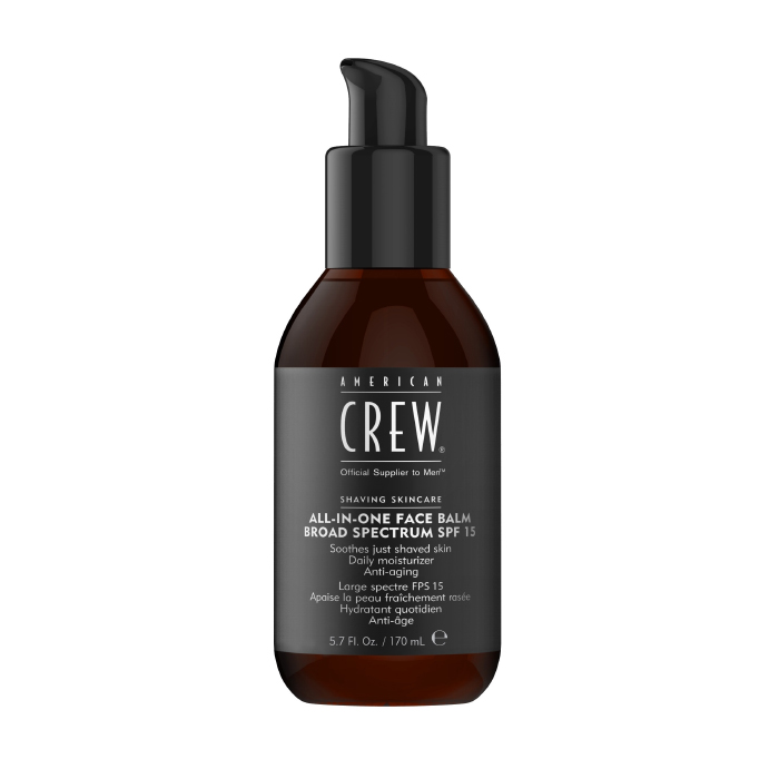American Crew All-In-One Face Balm Broad Spectrum SPF 15 170ml