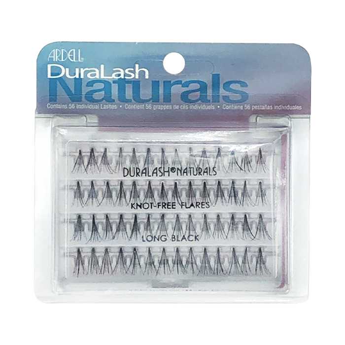 Ardell DuraLash Naturals Knot-Free Flares Long Black