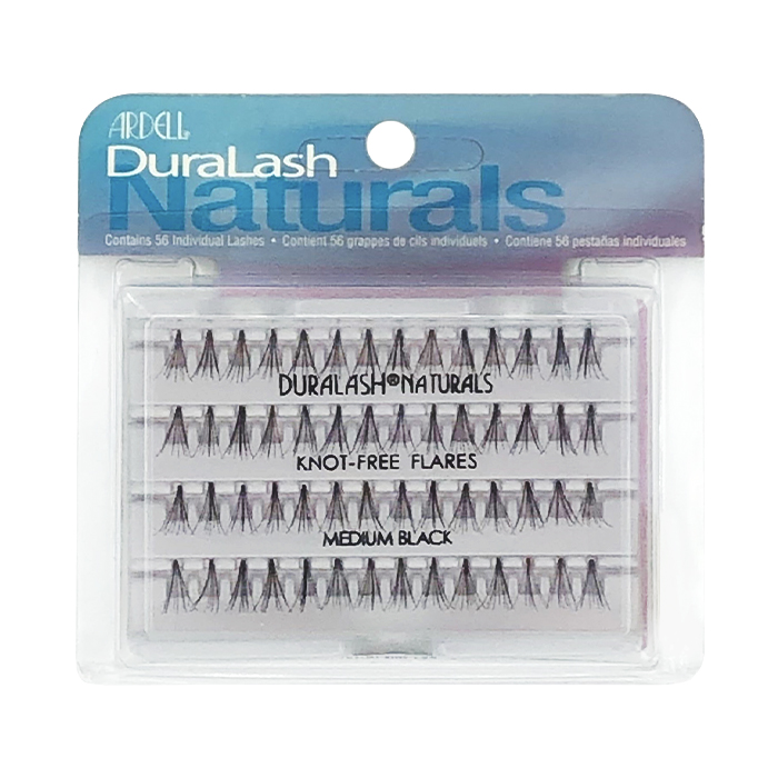 Ardell DuraLash Naturals Knot-Free Flares Medium Black