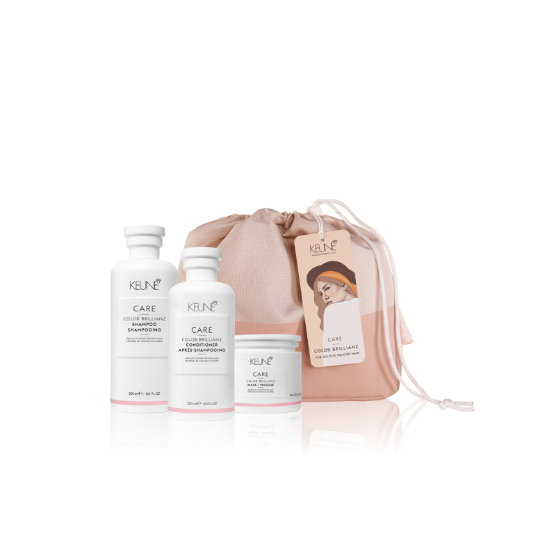 Keune Care Color Brillianz Trio Pack with Bag - Available at Catwalk Australia