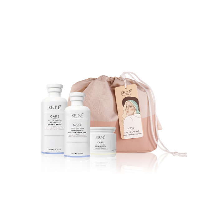 Keune Care Silver Savior Trio Pack with Bag - Available at Catwalk Australia