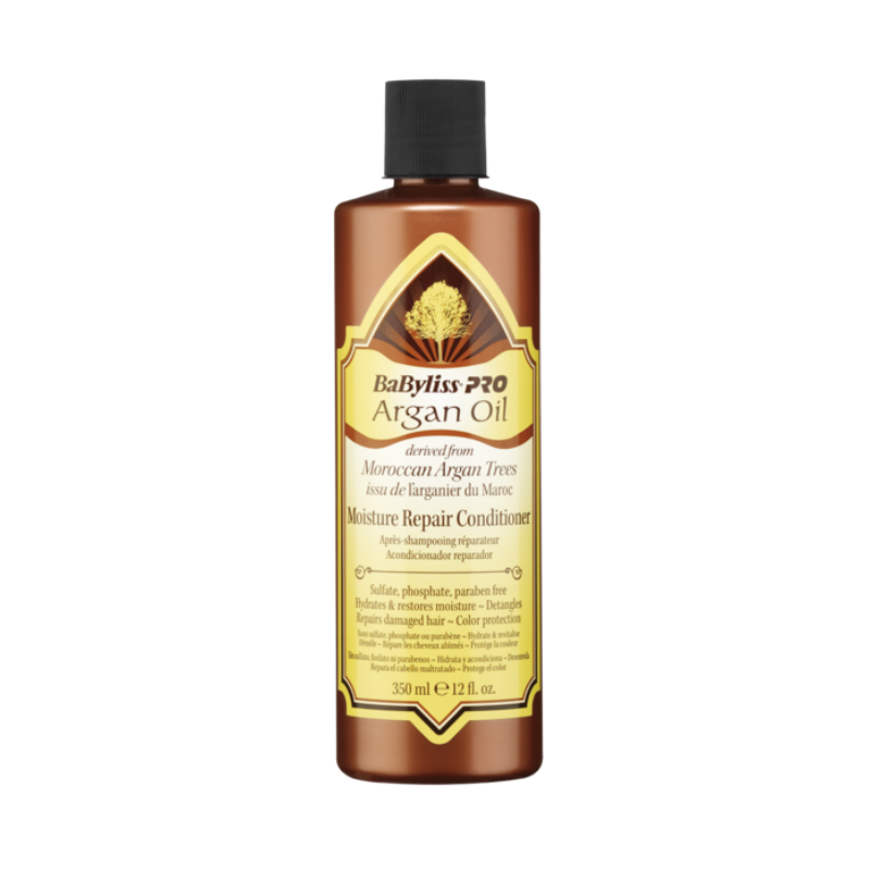 Babyliss PRO Argan Oil Moisture Repair Conditioner 350ml