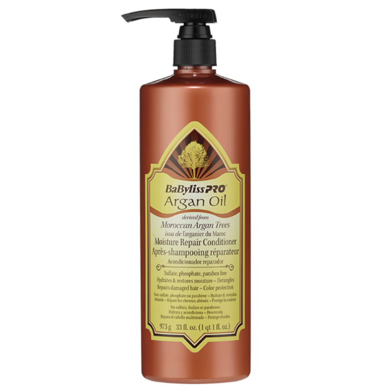 Babyliss PRO Argan Oil Moisture Repair Conditioner 973ml