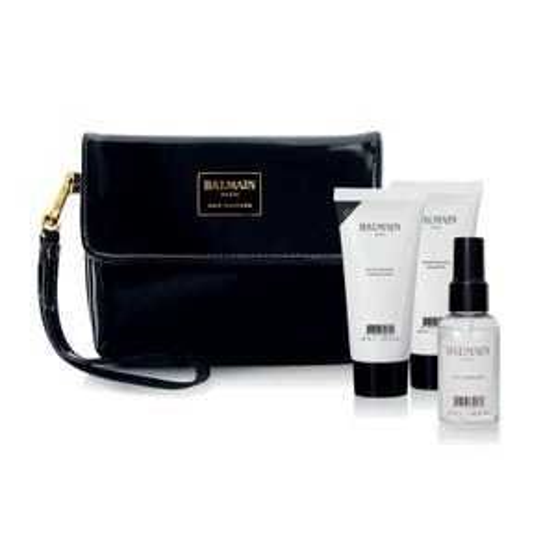 Balmain Paris Hair Couture Limited Edition FW18 Cosmetic Bag