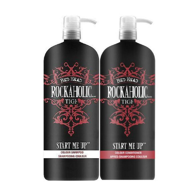 TIGI Rockaholic Start Me Up Colour Shampoo and Conditioner Duo 1500ml