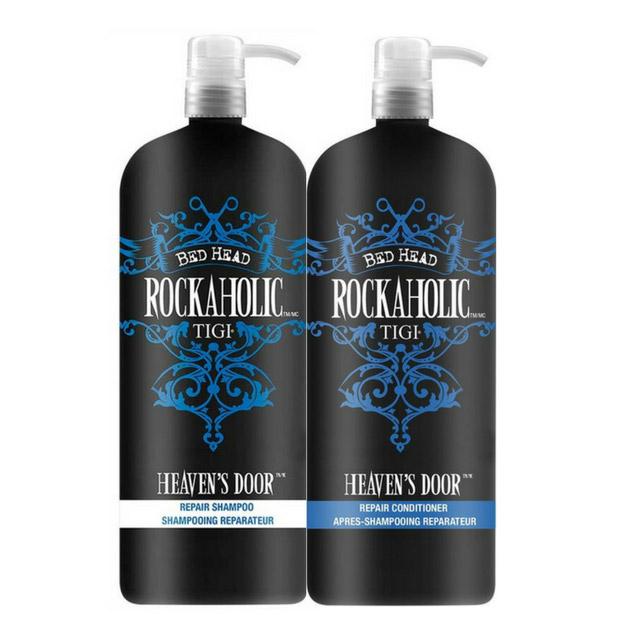 TIGI Rockaholic Heaven's Door Repair Shampoo and Conditioner Duo 1500ml