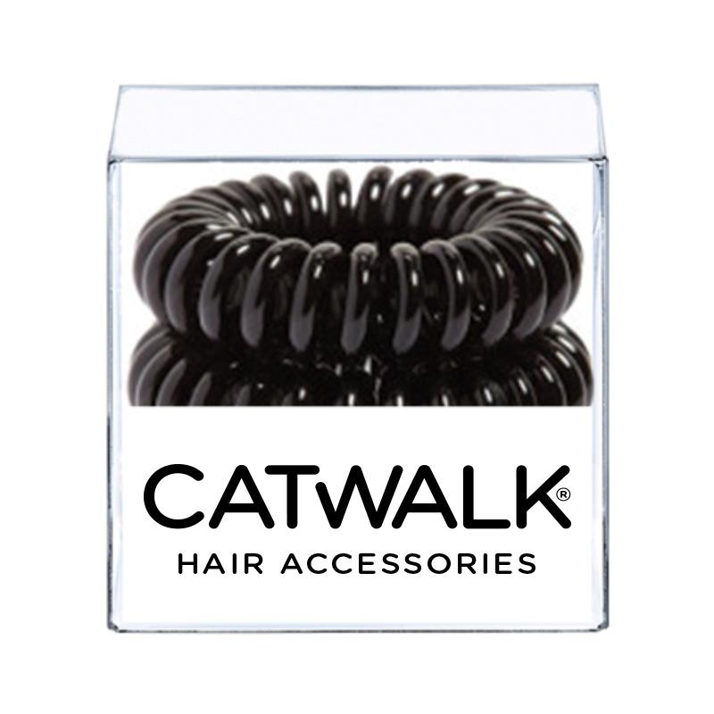 Hair Loops Black x 4