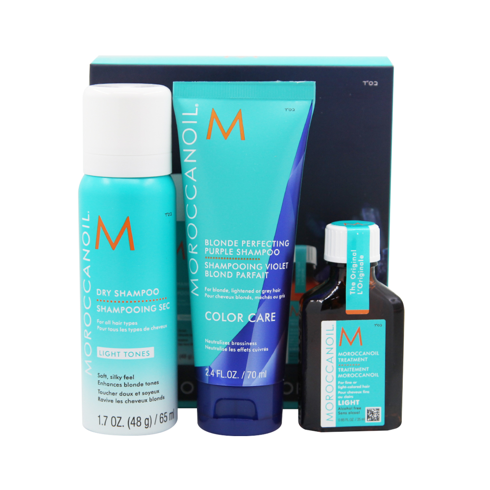 Moroccanoil Better Your Blonde Pack
