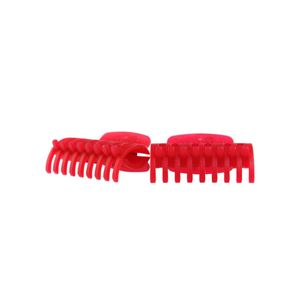 Butterfly Hair Clamp Red 12pk