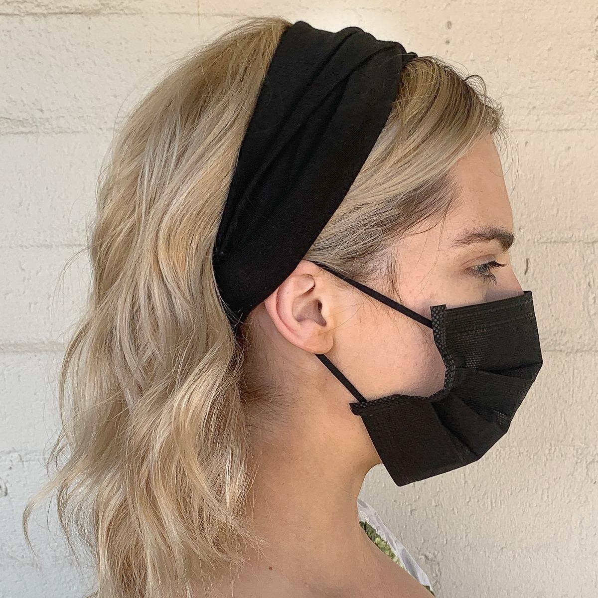 Catwalk Hair Accessories Black Headband