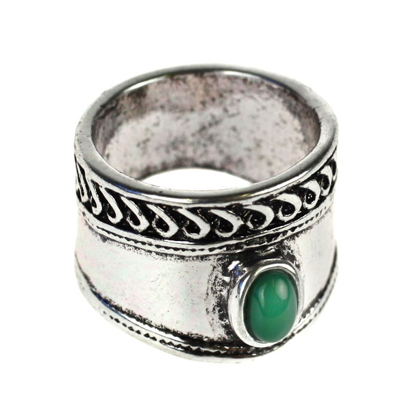 Atida Emerald Gypsy Ring