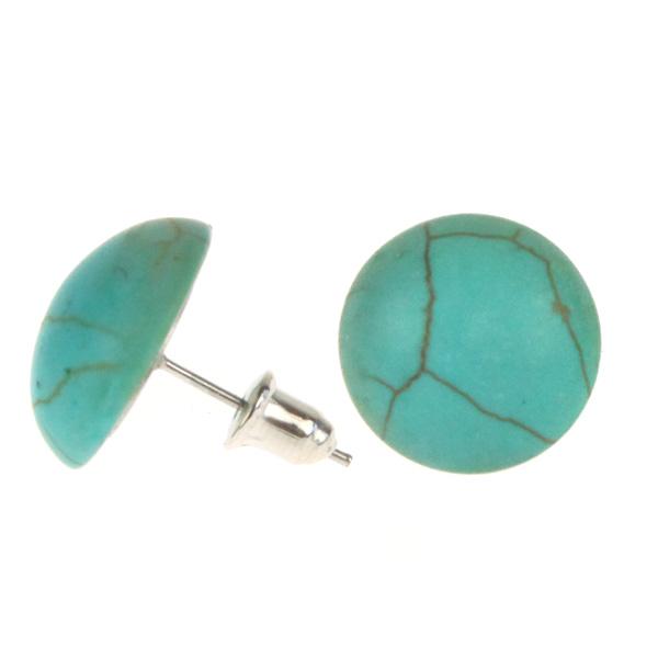 Atida Robin Blue Eggshells Earrings