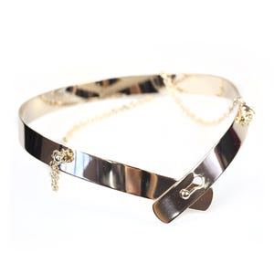 Atida Rose Gold Fashionista Collar