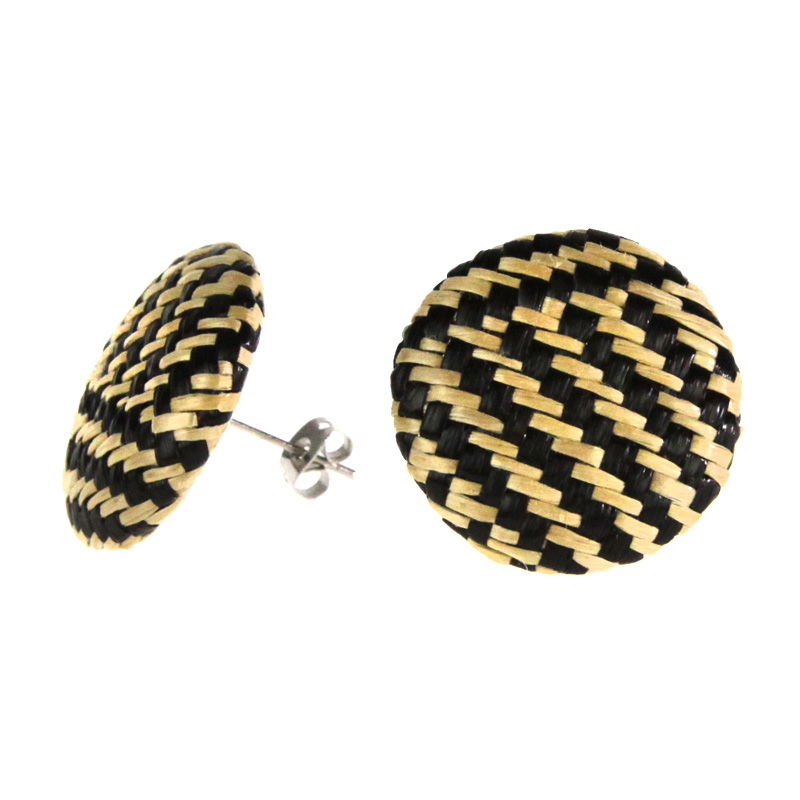 Atida Woven Statement Earrings