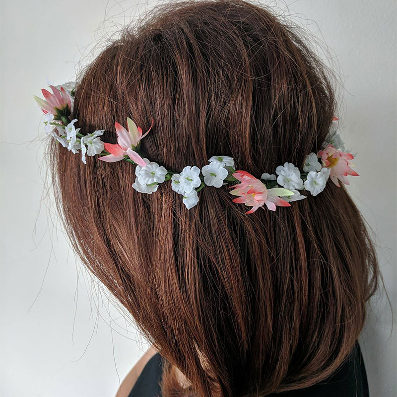 Catwalk Flower Hair Crown