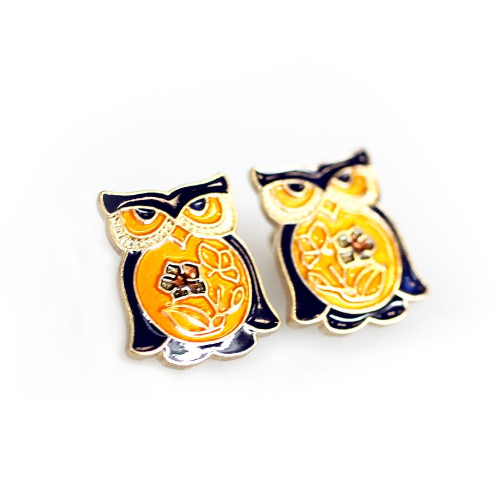 Atida Jewellery Owl Earrings