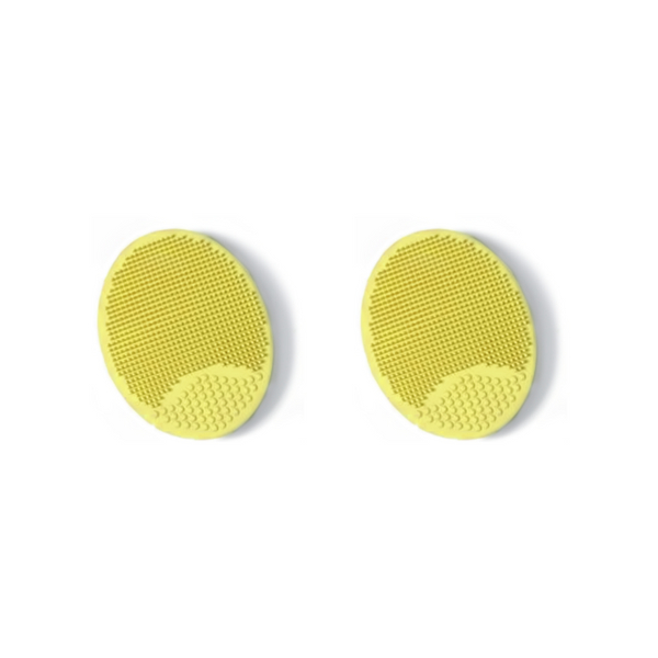 Catwalk Facial Cleansing Mitt Yellow x 2
