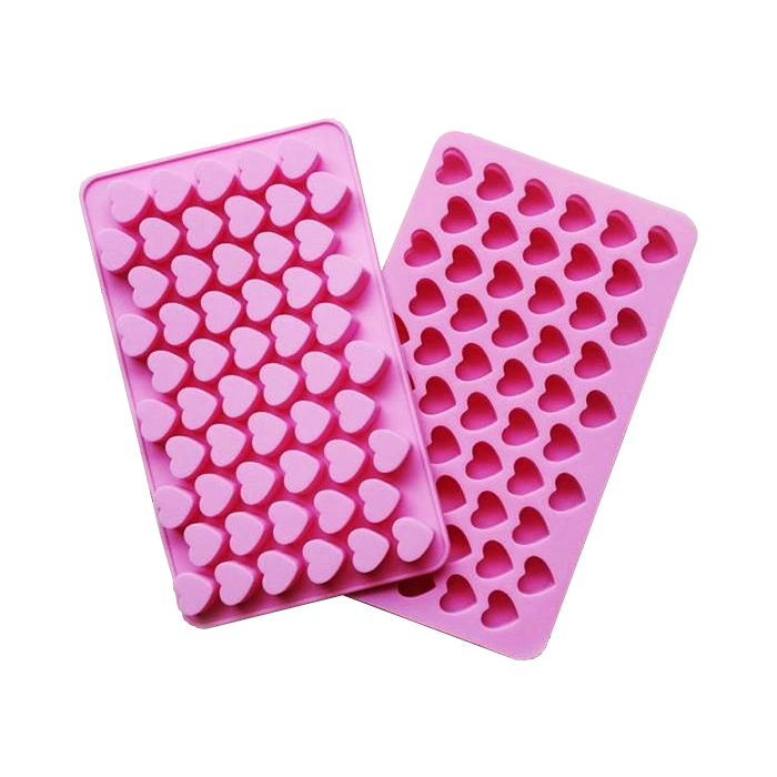 Pink Mini Heart Silicon Mould