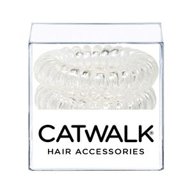 Hair Loops Clear x 4