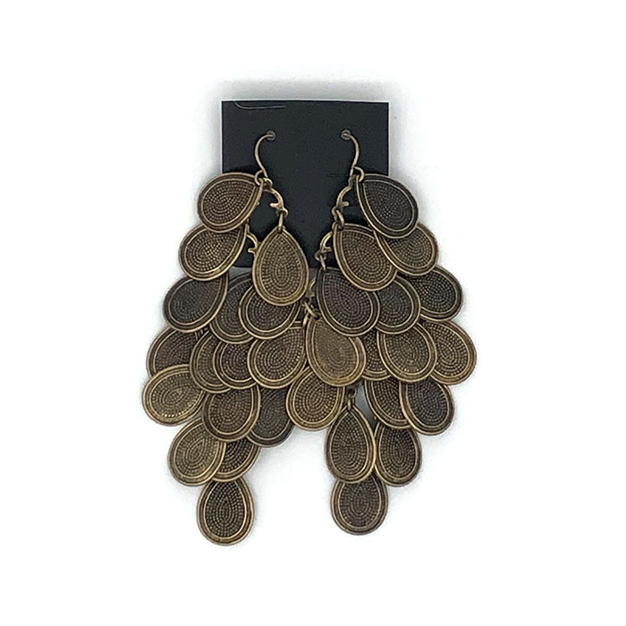 Atida Peacock Earrings