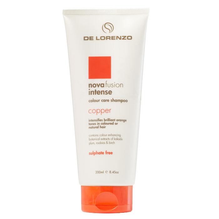 De Lorenzo Nova Fusion Colour Care Shampoo Intense Copper 200ml