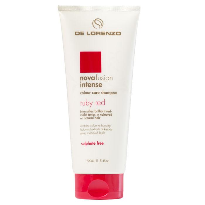 De Lorenzo Nova Fusion Colour Care Shampoo Intense Ruby Red 200ml