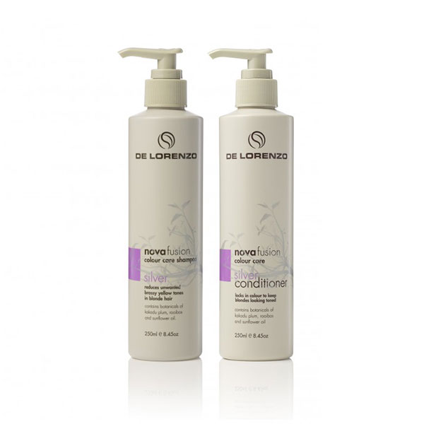De Lorenzo Novafusion Silver Colour Care 250ml Duo