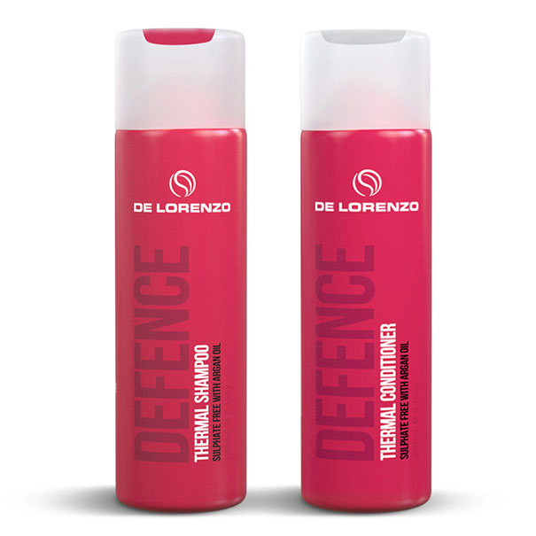 De Lorenzo Defence Thermal Shampoo and Conditioner 240ml Duo