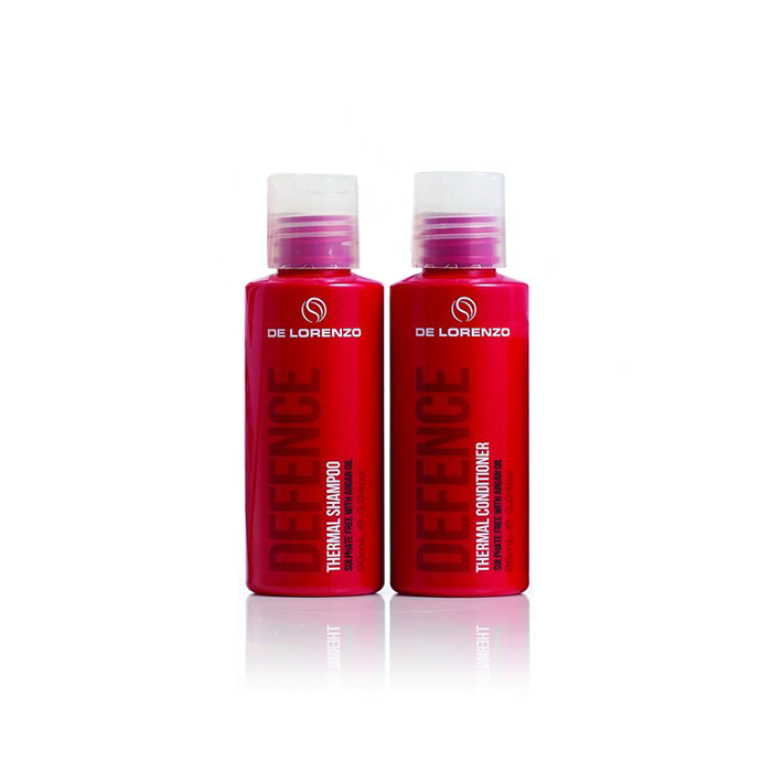 De Lorenzo Defence Thermal Shampoo and Conditioner 90ml Duo