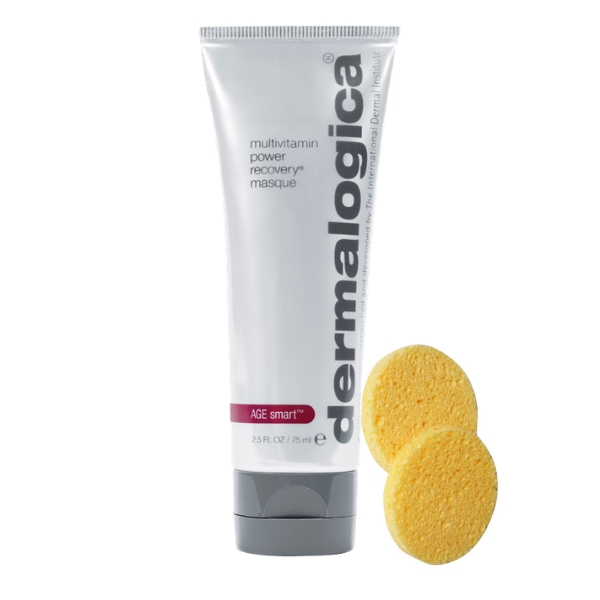 Dermalogica AGE Smart MultiVitamin Power Recovery Masque 75ml + 2x Professional Face Sponge