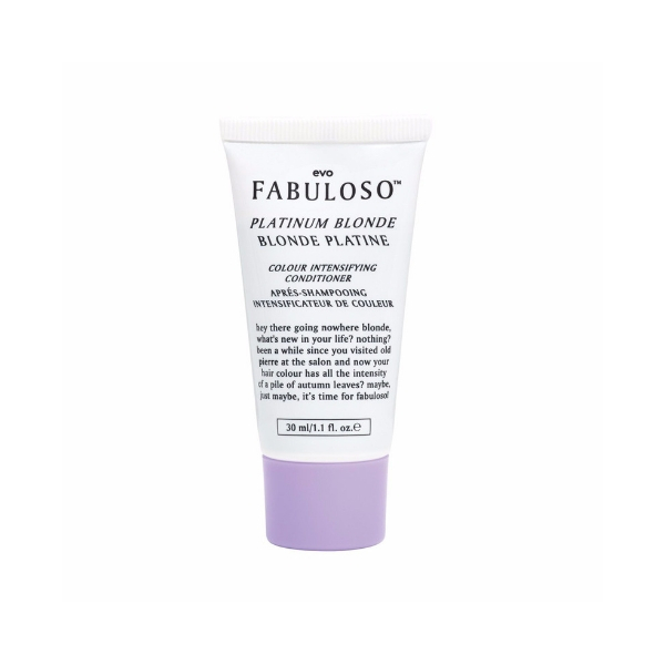 Evo Fabuloso Platinum Blonde Colour Intensifying Conditioner 30ml
