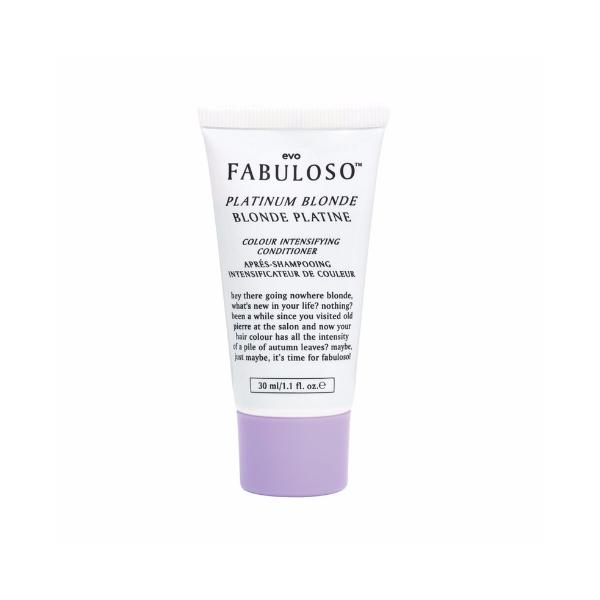Evo Fabuloso Platinum Blonde Colour Intensifying Conditioner 30ml